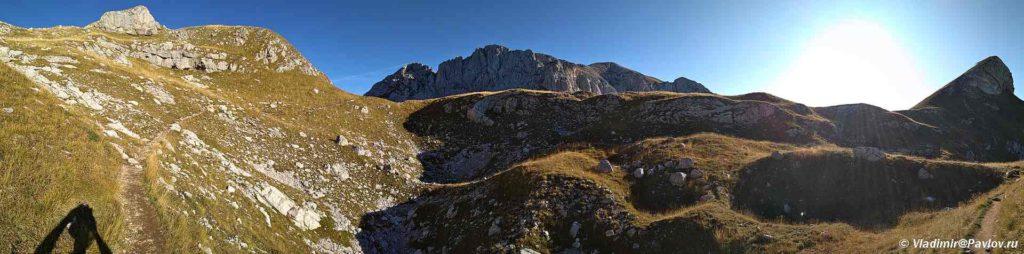 Tropa dlya trekkinga v Natsionalnom parke Durmitor. CHernogoriya 1024x254 - Восхождение на Боботов Кук.  2. Черногория