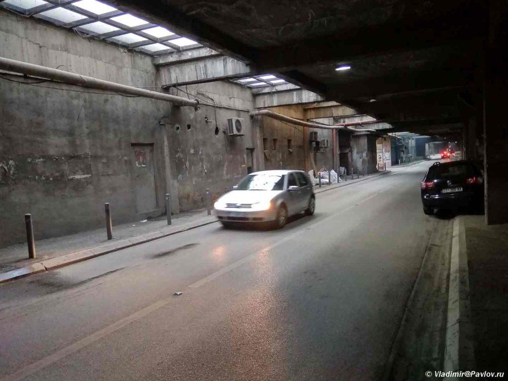 Tunneli v Prishtine prohodyashhie na urovne zemli. Prishtina. Kosovo. Kosovo. Pristina 1024x768 - Достопримечательности Приштины. Балканский трэш. Pristine, Kosovo