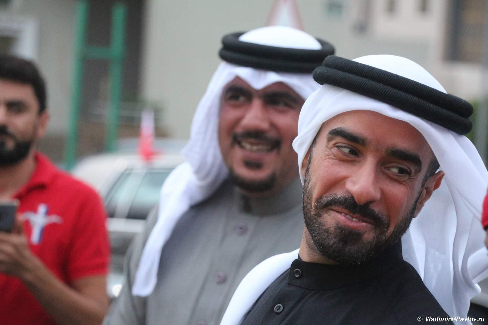 Ulybka Printsa. Bahrejn - Его Высочество, племянник шейха Дубая.