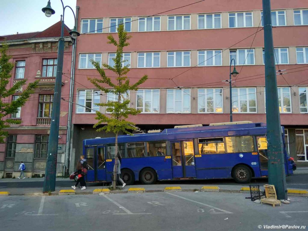Unikalnyj trehosnyj trollejbus. Saraevo. Bosniya i Gertsegovina Sarajevo 1024x768 - Сараево. Полезная информация. Sarajevo usefull info.