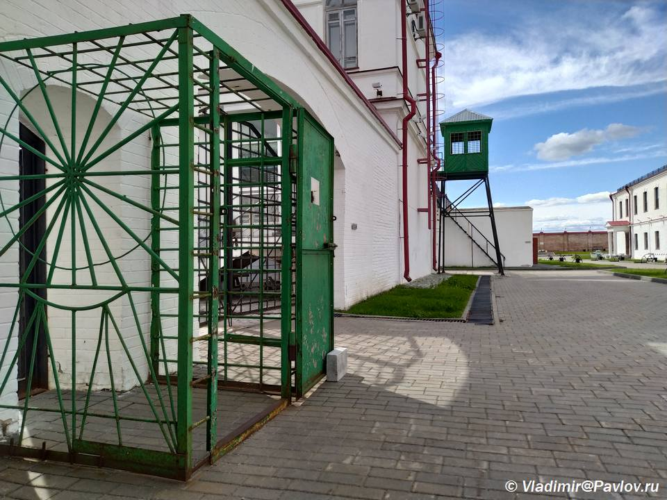 Usloviya soderzhaniya v lagere Tobol - Тюремный замок Тобольска