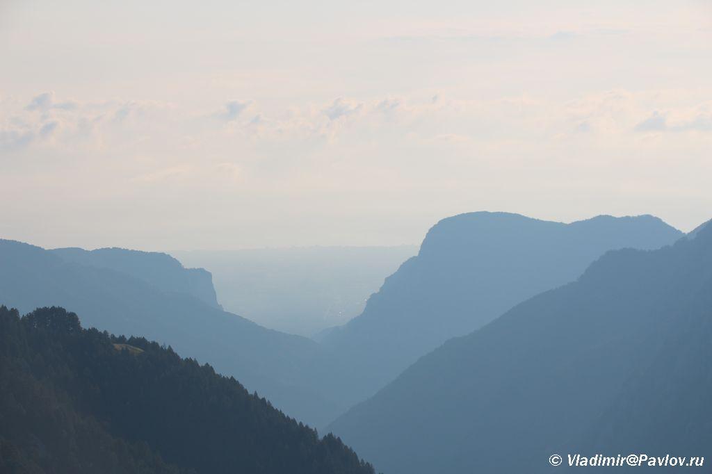 Utro v natsionalnom parke Olimpos. Prognoz pogody na Olimpe horoshij - Утро на Олимпе. Спуск на Землю.