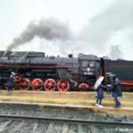 V Sortavala nash turisticheskij poezd pritsepili k parovozu  150x150 - Ретропоезд Рускеала - Сортавала «Рускеальский экспресс» и Туристический поезд.