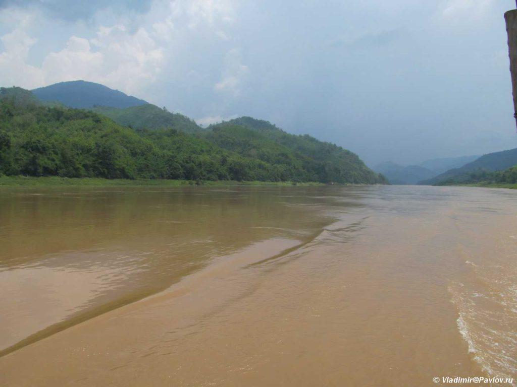 V nizovyah Mekong shirokij i spokojnyj. Laos. Luang Phabang 1024x768 - Организация круиза по Меконгу самостоятельно