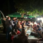 Vechernee zastole v Ohride. Makedoniya 150x150 - Ночное купание в озере Охрид. Траминец (Traminec).