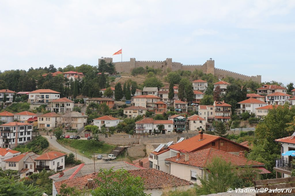 Verhnij grad i krepost v Ohride 1024x682 - На пути в Самуилову Крепость. Охрид.