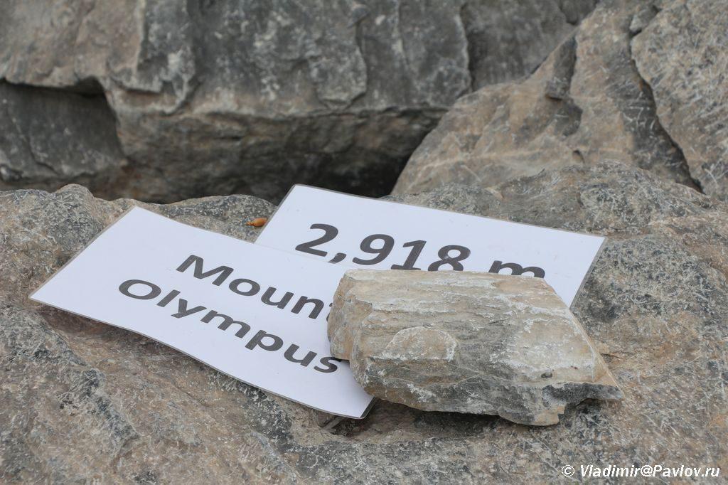 Vershina Olimpa Mitikas 2918 metrov 1024x682 - План восхождения на Олимп. Литохоро (Litochoro).