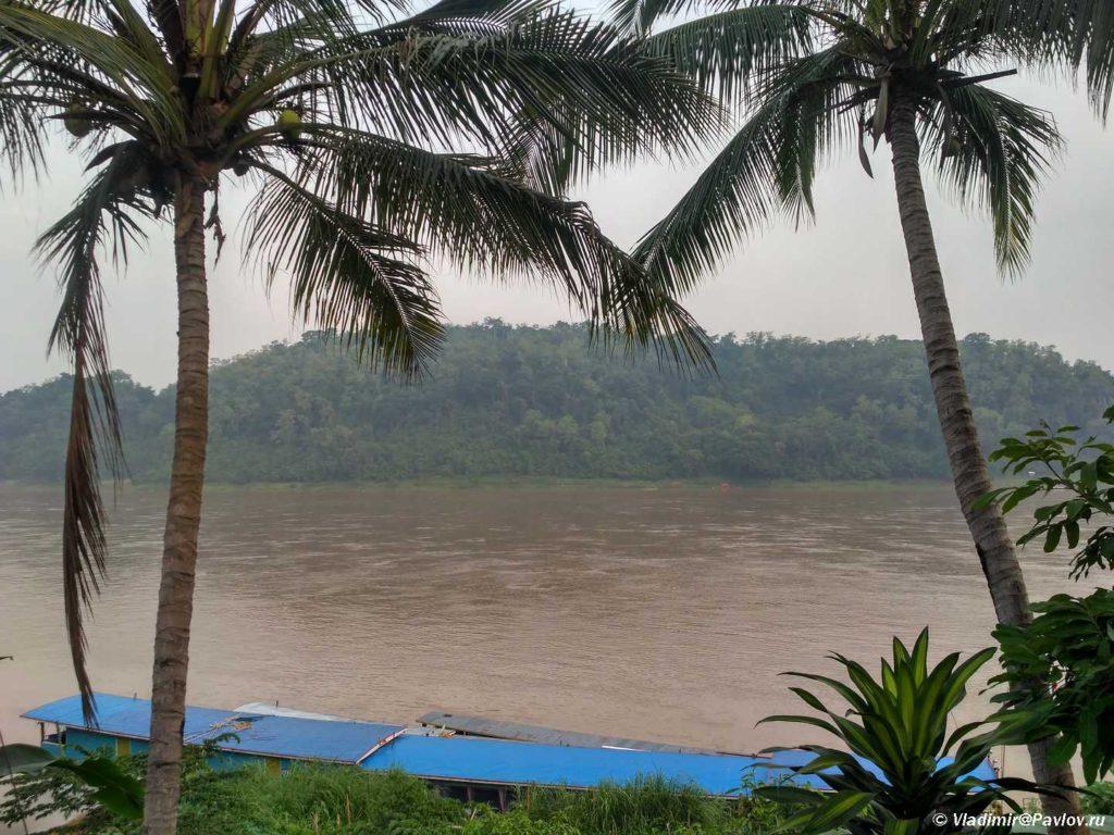 Vid na Mekong iz Luang Prabanga. Laos. Laos. Luang Prabangh 1024x768 - Жилье в Луанг Прабанге. Отели с бассейном. Наша вилла.