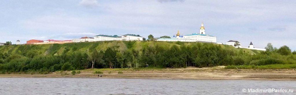 Vid na verhnij gorod Tobolsk s Irtysha 1024x330 - Нижний город Тобольска. Подгора