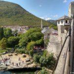 Vid so Starogo Mosta v Mostare. Bosniya i Gertsegovina Mostar 150x150 - Старый Мост (Stari most) - достопримечательность в Мостаре (Mostar)