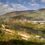 Vidy iz okna poezda Saraevo Mostar. Bosniya i Gertsegovina train Sarajevo Mostar 150x150 - Достопримечательности Боснии. Из Сараево в Мостар (Mostar) на поезде