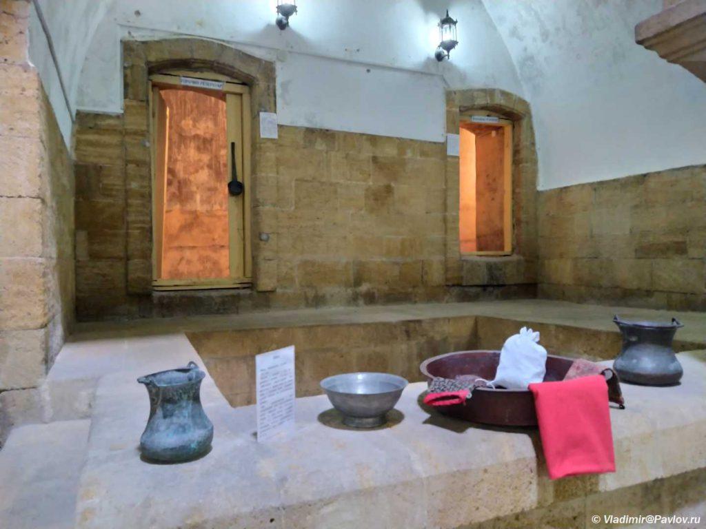 Vnutri Devichih ban. Derbent 1024x768 - Музей культуры и быта древнего Дербента. Девичья баня