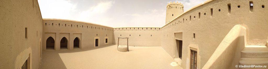 Vnutri kreposti. Arabskie Emiraty 1024x265 - По Эмиратам на машине с палаткой