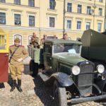 Voennyh gruzovik 150x150 - 9 мая в Выборге. Праздник на Красной площади, парад ретротехники военных лет