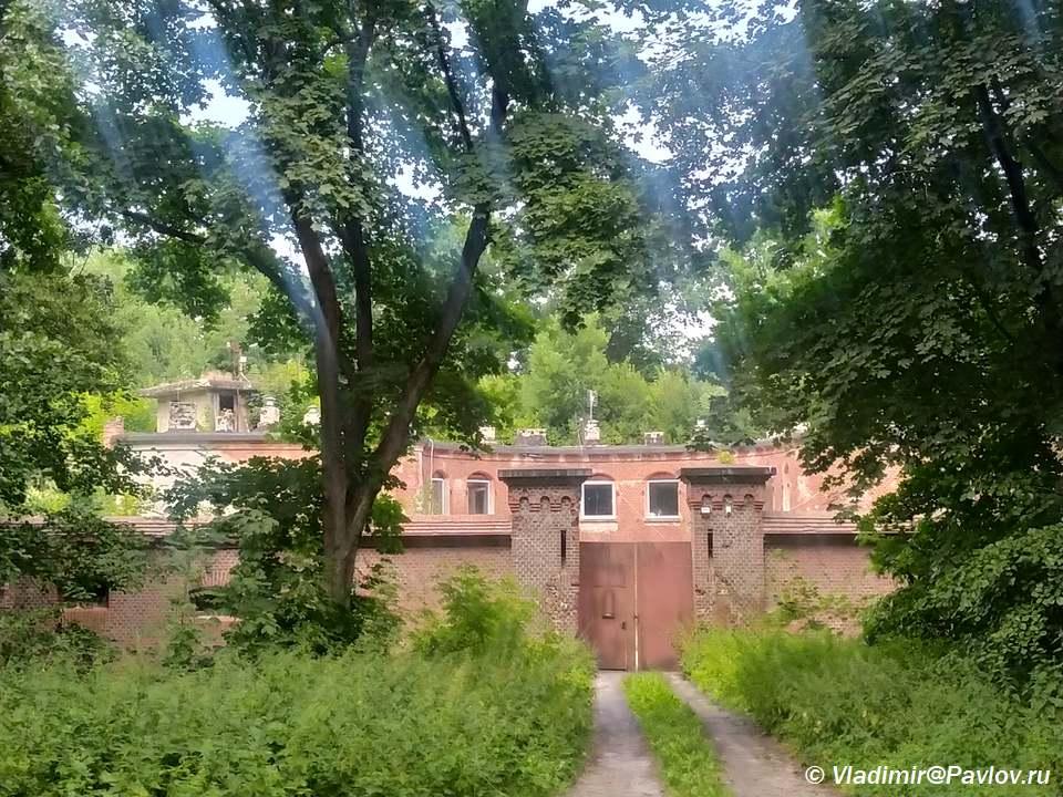 Vostochnyj fort v Baltijske Pillau Pillau - Достопримечательности Балтийска. 4 форта