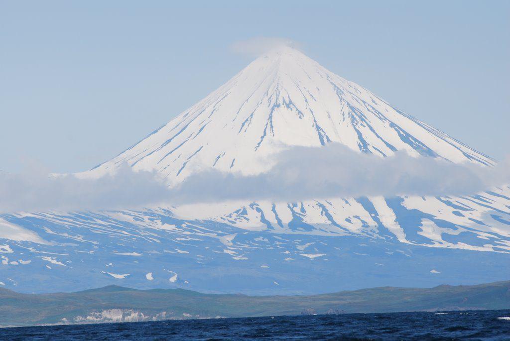 Vulkan Pavlova na Alyaske 1024x685 - Вулкан Павлова (Pavlof Volcano), острова и залив Павлова