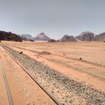 ZHeleznaya doroga poslednij rubezh tsivilizatsii na granitse pustyni Vadi Ram. Iordaniya. Wadi Rum Jordan 150x150 - Пустыня Вади Рам (Wadi Rum) самостоятельно и бесплатно. Иордания.