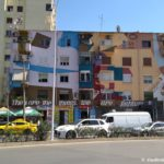 ZHile v Tirane. Albaniya 150x150 - Автобус Шкодер - Тирана. Столица Албании.