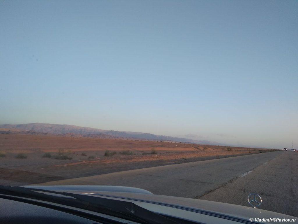 Zakat na Mertvomorskom shosse v Iordanii 1024x768 - По течению реки Иордан