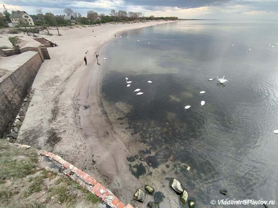 Zapadnyj fort na Baltijskoj kose. Pillau Dostoprimechatelnost Baltijska - Достопримечательности Балтийска. 4 форта