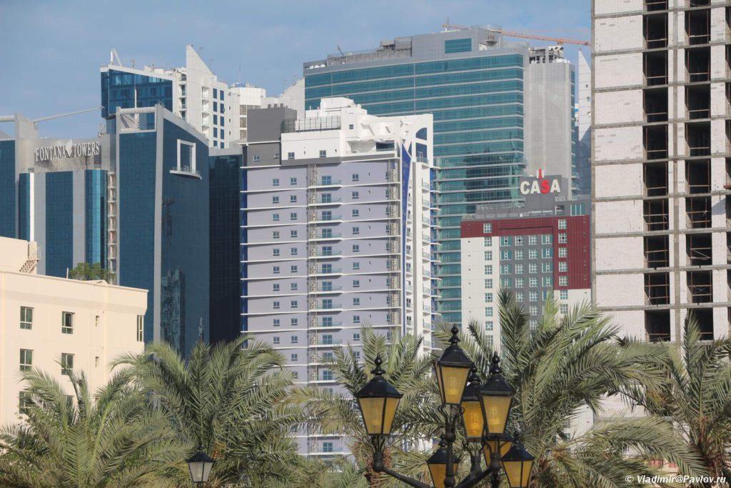 Zastrojka rajona Dzhufejr. Juffair. Manama Bahrejn. Manama Bahrain 1024x683 - Прогулка по столице Бахрейна, Манаме