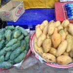 Zelenye i zheltye mango v Laose. Pak Beng Pak Beng 150x150 - Судоходство по Меконгу. Лаос