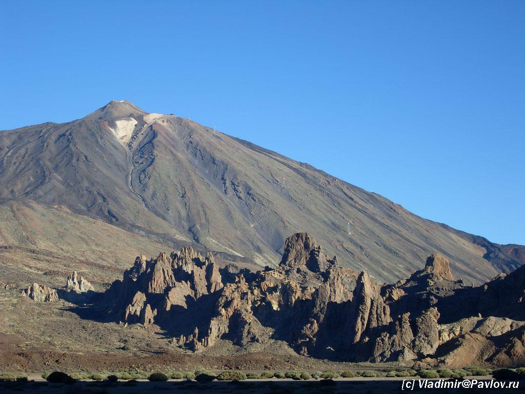o.Tenerife vulkan Tejde 1024x768 - Вулканы доступные каждому
